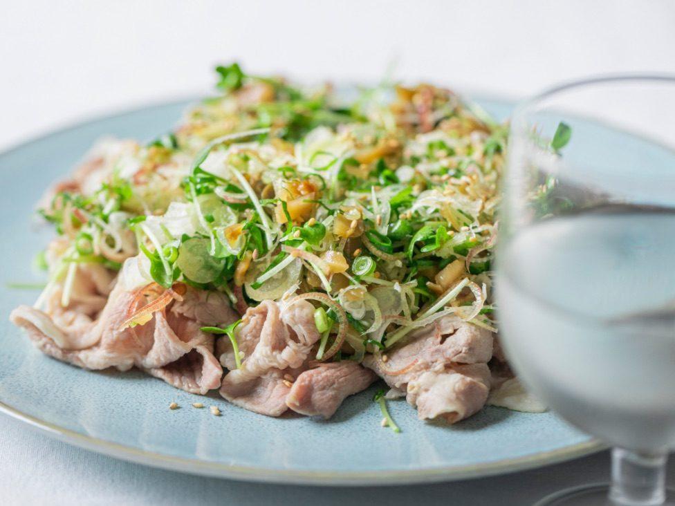 #8 田中六五×豚しゃぶの薬味まみれサラダ