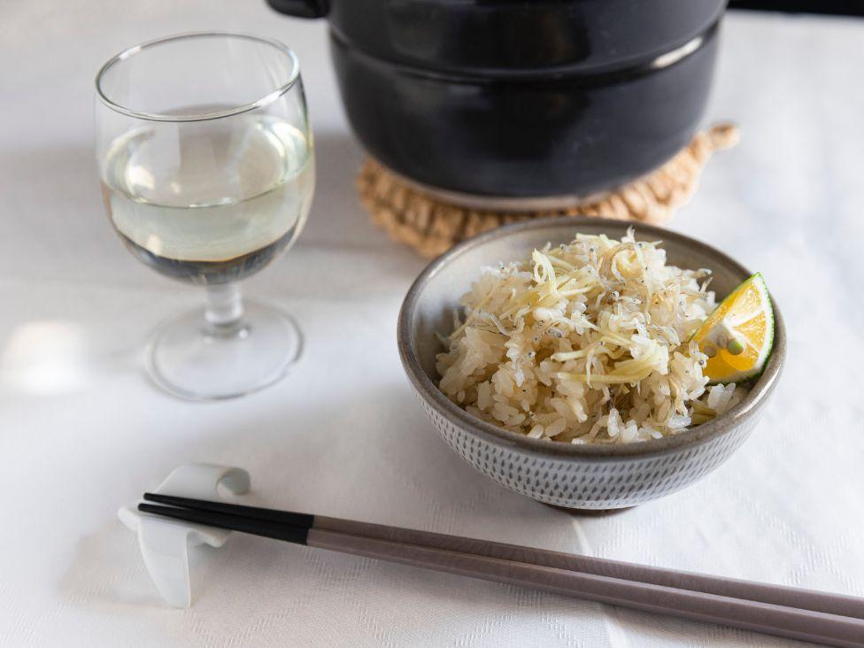 #11 杜の蔵 カラクチサムライ×新生姜とちりめんじゃこの炊き込みご飯